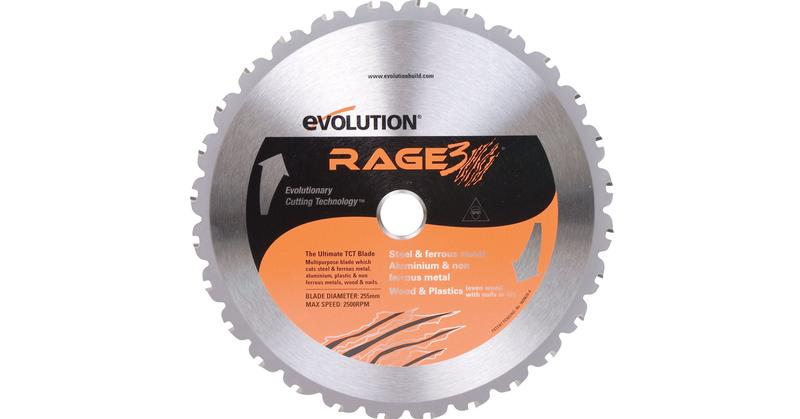 Evolution 10 Inch Multipurpose Replacement Circular Saw Blade at Coremark Metals