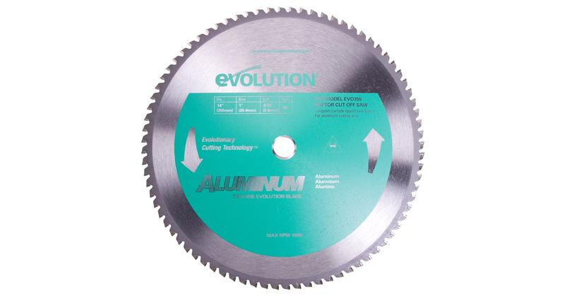 Evolution 14 Inch Aluminum Replacement Saw Blade at Coremark Metals