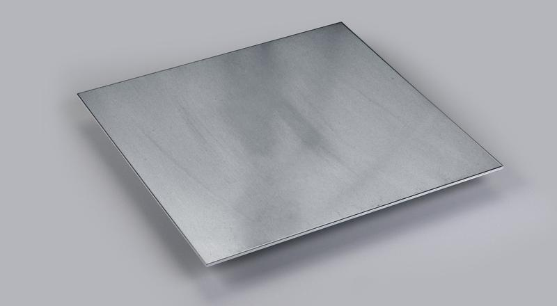 Aluminum sheet stock cut to length