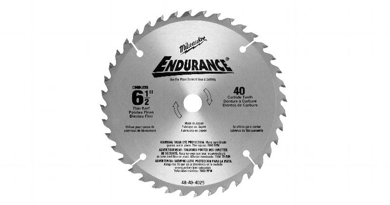 Milwaukee 6-1/2 Inch Metal Replacement Circular Saw Blade at Coremark Metals