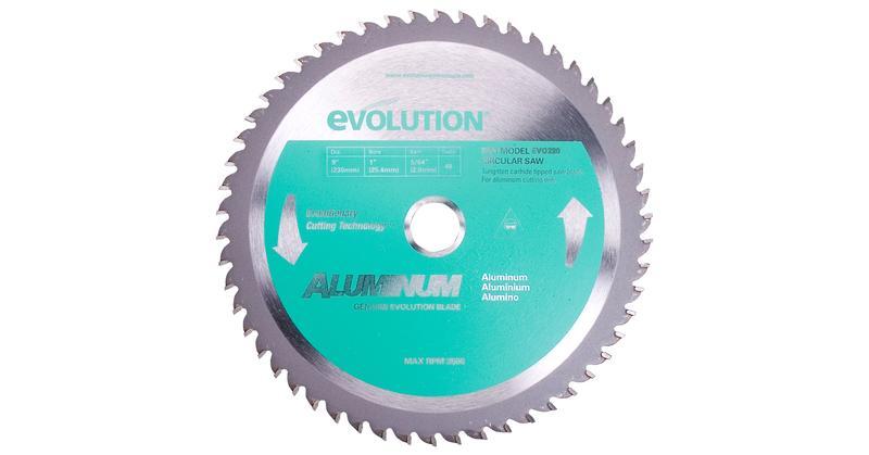 Evolution Aluminum Replacement Circular Saw Blade at Coremark Metals