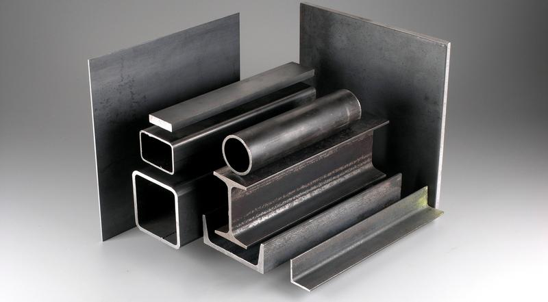 Steel metals sheet, plate, tube, pipe, angles, channels and beams