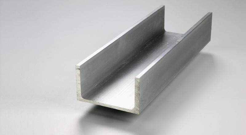Aluminum association channel structural stock cut to size