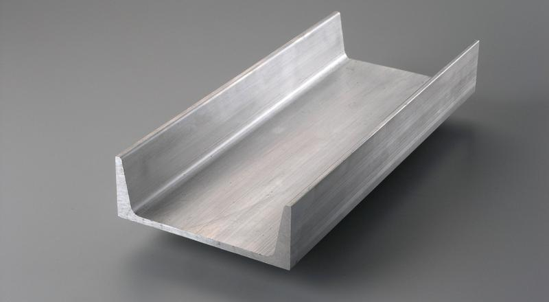Aluminum american standard channel structural stock cut to size