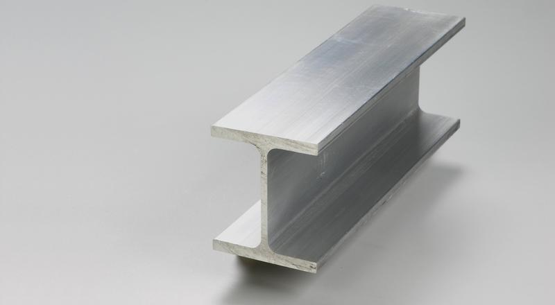 Aluminum association i beam structural stock cut to size