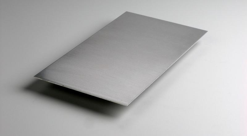 Aluminum sheet stock cut to size