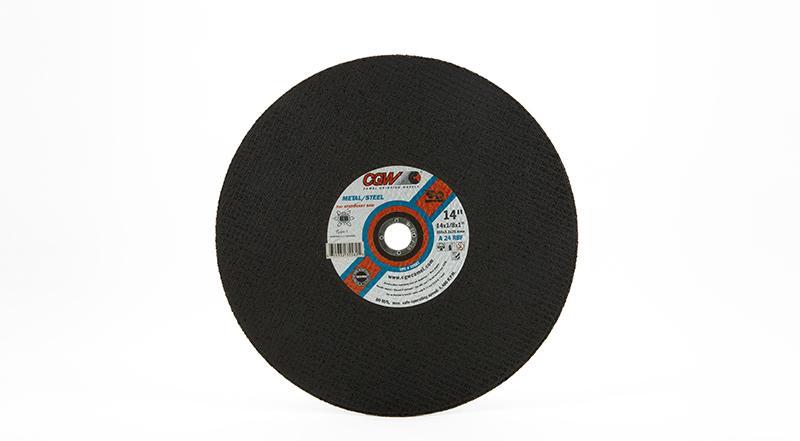 CGW Stationary Chop Saw Wheel - 14 Inch x 1/8 Inch Metal Cutting at Coremark Metals