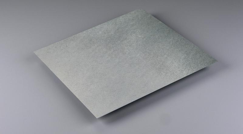Galvanized steel sheet stock metal material cut to size