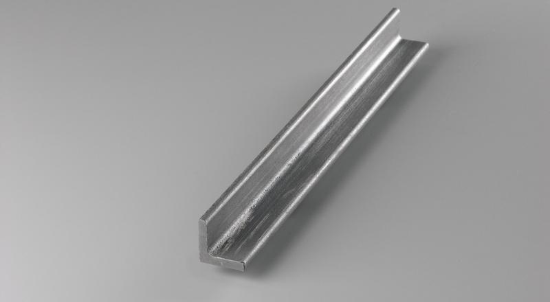 Galvanized steel angle stock metal material cut to size