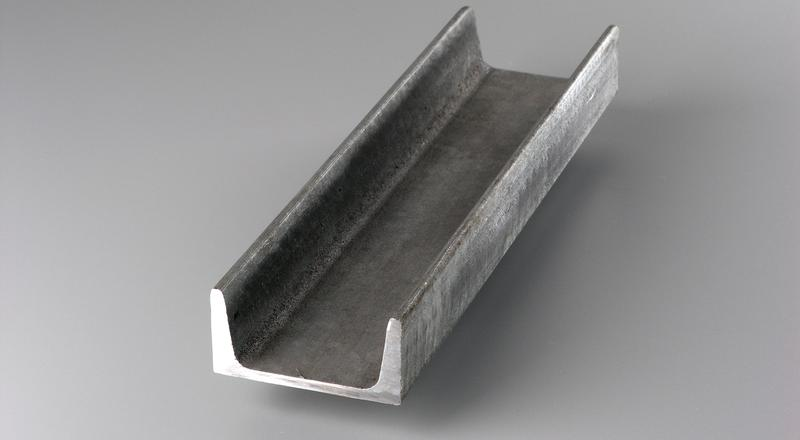 Galvanized steel c channel structural stock metal material cut to size