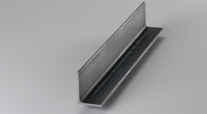 Steel metal material stock cut to size structural unequal leg angle