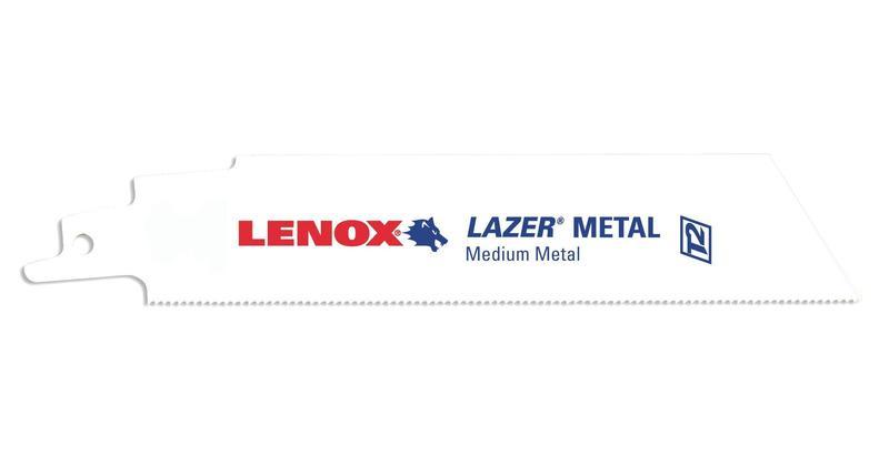 Lenox Reciprocating Saw Blades Lazer Metal Cutting at Coremark Metals