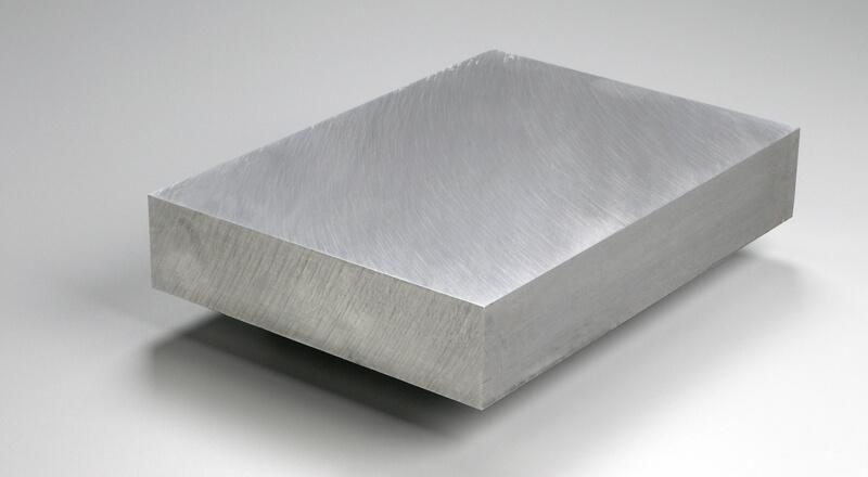 Aluminum plate metals