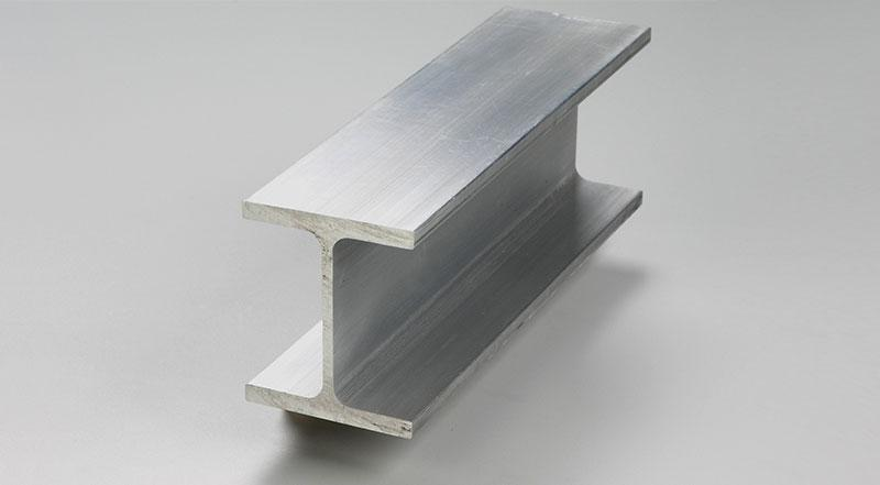 aluminum wide flange i beam structural material stock