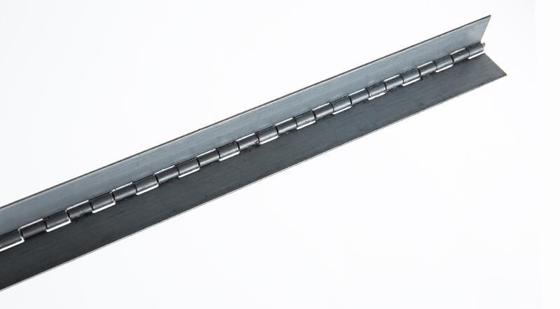 Marlboro Continuous Piano Hinge - Electro Galvanized hardware on sale at Coremark Metals