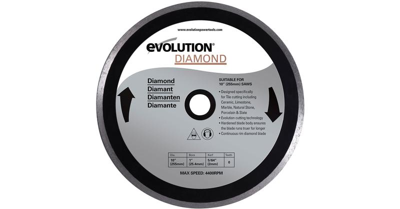 Evolution 10 Inch Diamond Masonry Replacement Circular Saw Blade at Coremark Metals