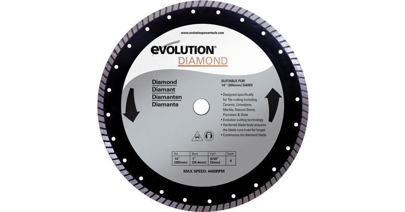 Evolution 14 Inch Diamond Masonry Replacement Saw Blade at Coremark Metals