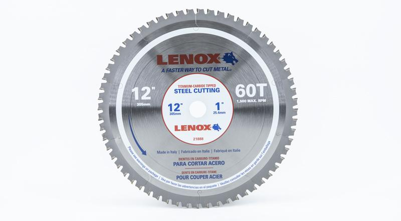 Lenox 12 Inch Steel Replacement Circular Saw Blade at Coremark Metals