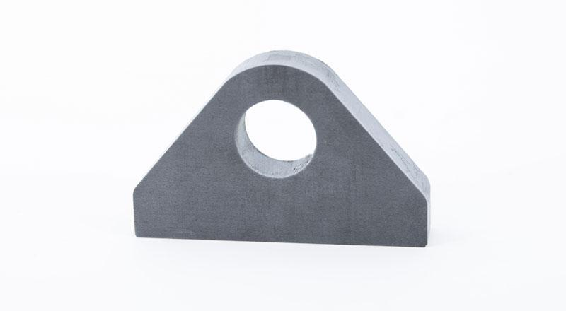 hot rolled steel lifting lug manufactured part