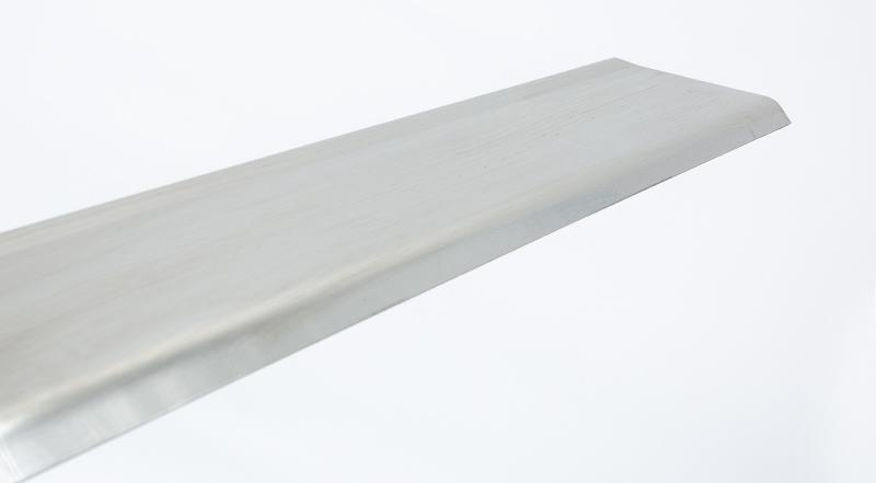 formed baseboard base board stainless steel metal manufactured part