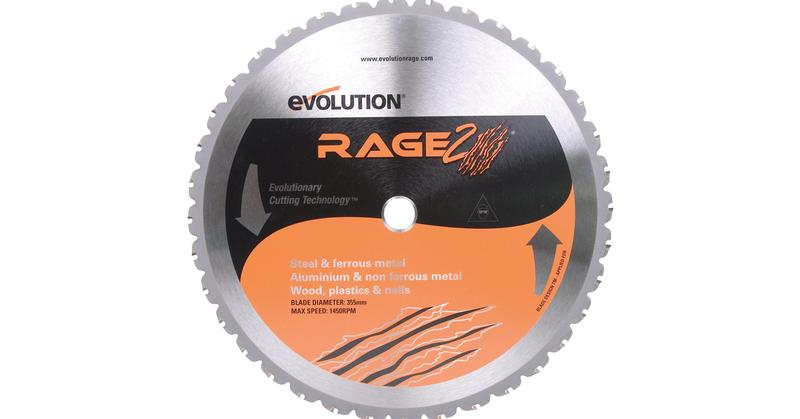 Evolution 14 inch Multipurpose Replacement Saw Blade at Coremark Metals