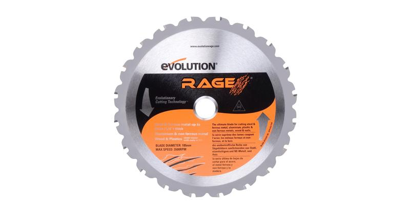 Evolution 7-1/4 Inch Multipurpose Replacement Circular Saw Blade at Coremark Metals