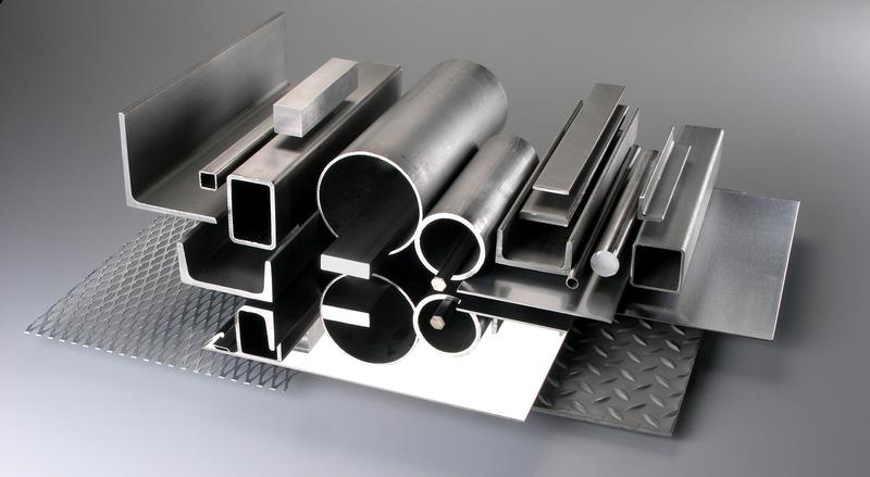 Stainless steel metal supplier providing angles, bar, channel, sheet, tubing and pipe