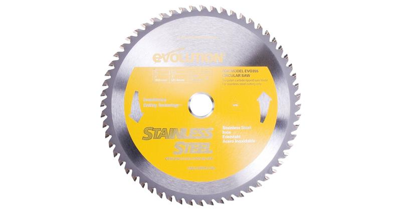 Evolution 14 Inch Stainless Steel Replacement Saw Blade at Coremark Metals