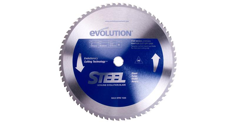 Evolution power tools steel circular saw blade at Coremark Metals