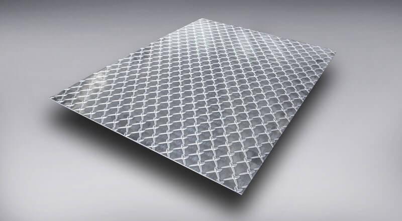 diamond floor plate top grip metal aluminum
