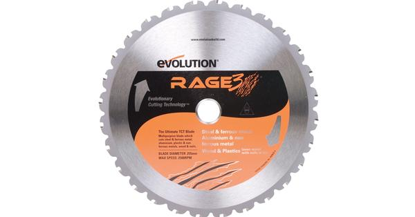 Evolution 10 Inch Multipurpose Replacement Circular Saw Blade at Coremark Metals