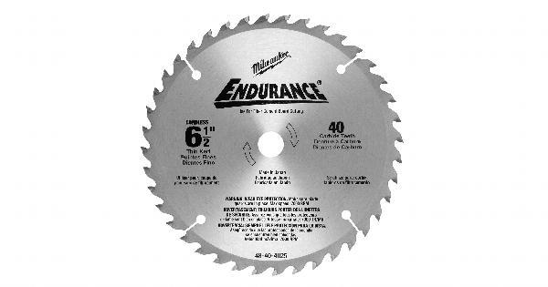 Milwaukee 6-1/2 Inch Metal Replacement Circular Saw Blade at Coremark Metals