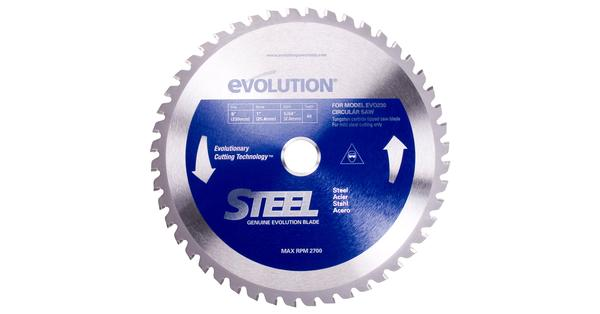 Evolution 9 Inch Steel Replacement Circular Saw Blade at Coremark Metals