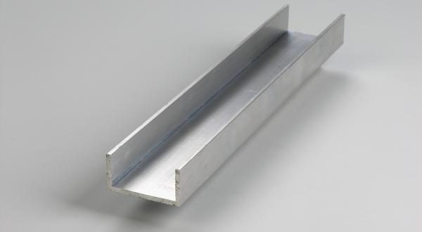 Aluminum channel structural stock cut to size