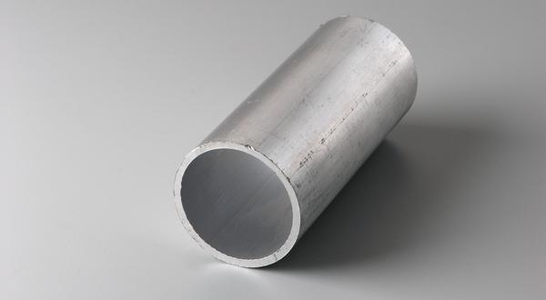 Aluminum round tube stock cut to length