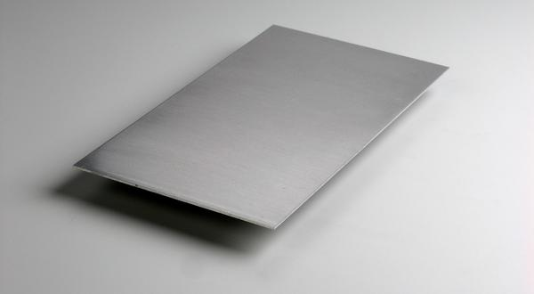 Aluminum sheet stock cut to size