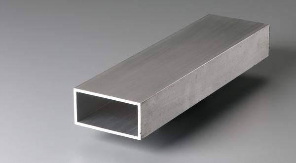 Aluminum metal rectangular tubing