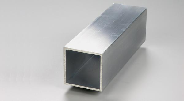 Aluminum square tube stock cut to length