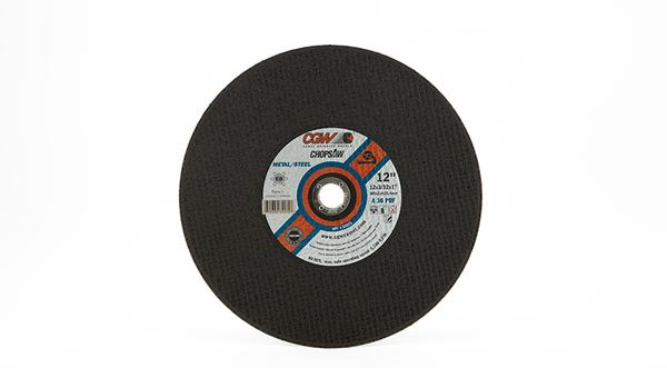 CGW General Purpose Chop Saw Wheel - 12 Inch X 3/32 Inch Metal Cutting at Coremark Metals