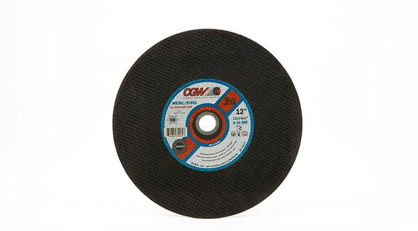 CGW Stationary Chop Saw Wheel - 12 Inch x 1/8 Inch Metal Cutting at Coremark Metals