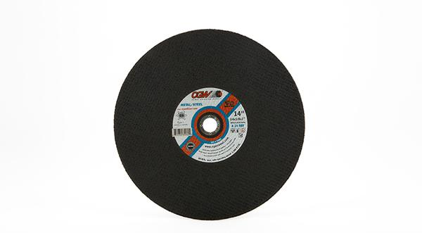 CGW Stationary Chop Saw Wheel - 14 Inch x 1/8 Inch Metal Cutting at Coremark Metals