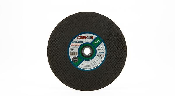CGW High Speed General Purpose Chop Saw Wheel - 12 Inch x 5/32 Inch at Coremark Metals