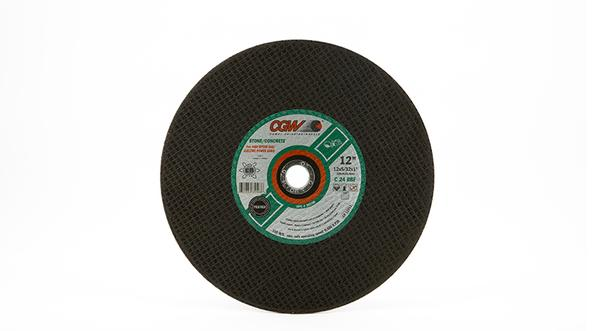CGW Silicon Carbide High Speed Chop Saw Wheels - 12 Inch x 5/32 Inch at Coremark Metals