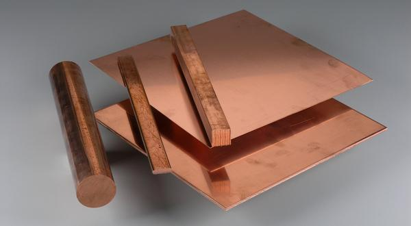 Copper metal supplier providing square, flat, round bar stock, sheet and plate