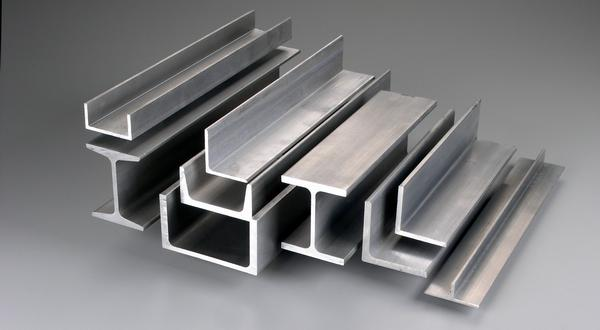 Aluminum structural metals, channels, beams and angles
