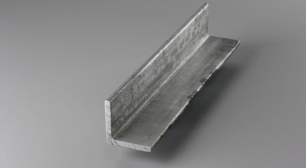 Galvanized steel structural angle