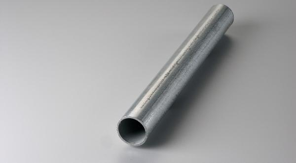 Galvanized steel pipe stock metal material cut to size