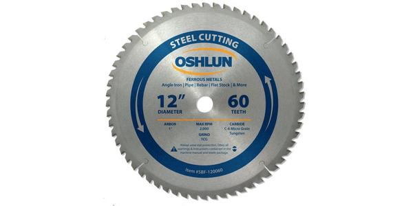 Oshlun 12 Inch Steel Replacement Circular Saw Blade at Coremark Metals