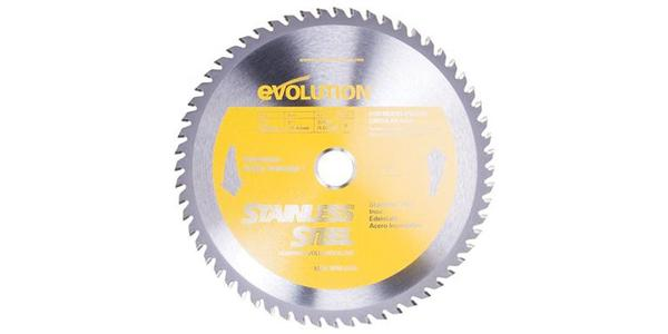 Evolution 10 Inch Stainless Steel Replacement Circular Saw Blade at Coremark Metals