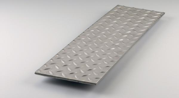 304 stainless steel floor plate treadplate diamond stock metal material cut to size